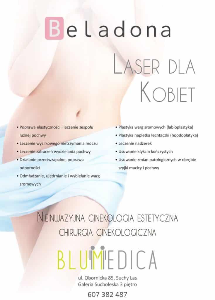 nietrzymanie moczu zabieg laserem